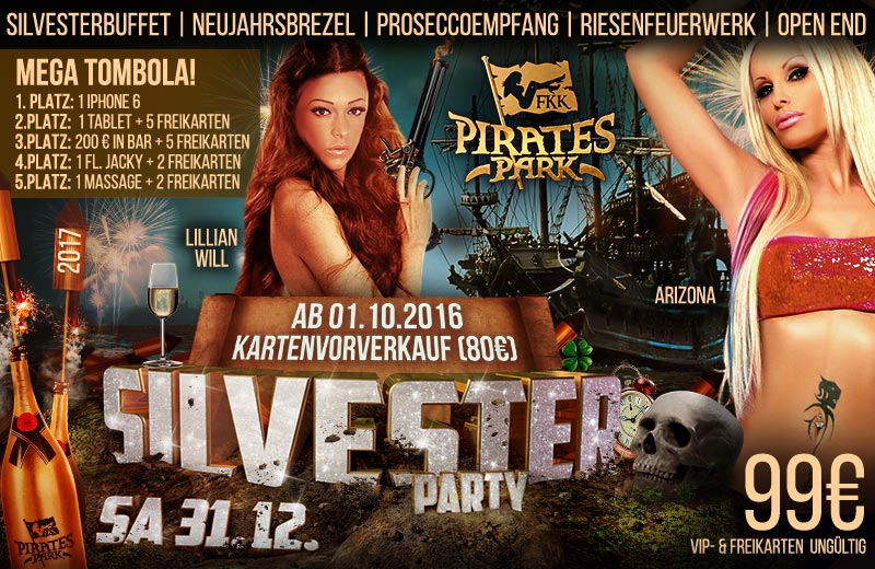 Pirates Park Silversterparty